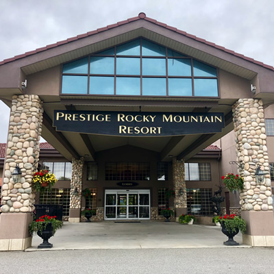 The Cranbrook Prestige Rocky Mountain Resort opened in 1999. It was the third location to open in the Kootenays, two years after the opening in Nelson, B.C.