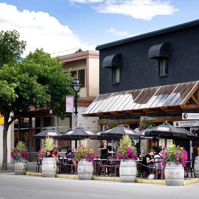 Downtown Golden, B.C.