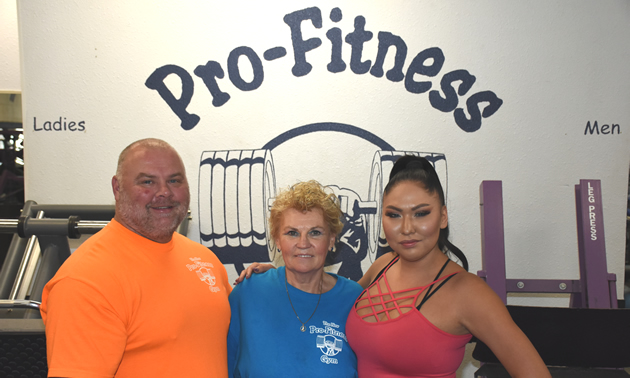 Cerry, Anna and Mya Lamb, the family making Pro-Fitness one of the best gyms in town.