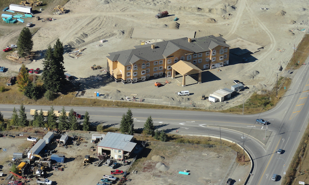 A New Hotel Nears Completion