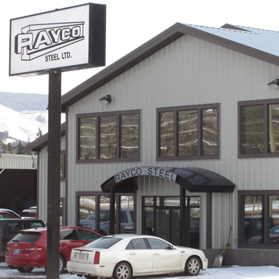 Rayco Steel Ltd. services the mining industry in the vicinity of Sparwood, B.C.
