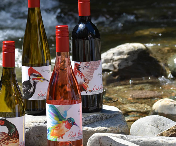 Red Bird Estate Winery is the newest vineyard in the Creston Valley.
