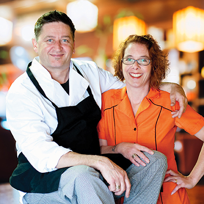 Simon Kelly and Angela Peebles are the owners and sole employees of Toast, a breakfast and brunch restaurant in Nelson, B.C.