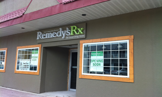 Photo of new Remedy Rx building