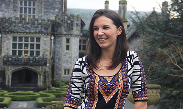 Kiraya Spencer, alumna of the Selkirk College Resort & Hotel Management Program.