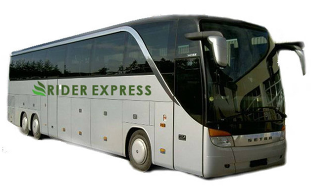 Picture of Rider Express bus.