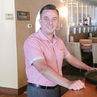 Rob Little, General Manager Adventure hotel, Emperor Coffee, Louis Steakhouse in Nelson, BC.