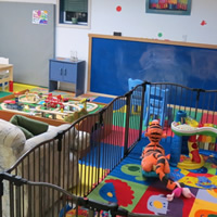 Photo of a play room for small children