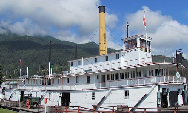 SS Moyie at Kaslo
