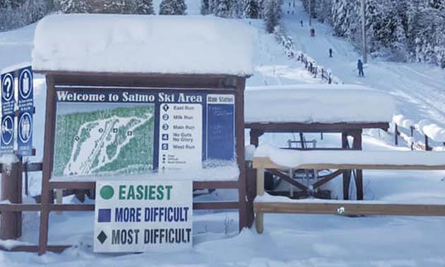Salmo Ski Hill