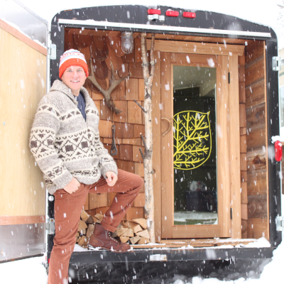 Finnish-Canadian Mika Sihvo builds one-of-a-kind portable saunas in Revelstoke, B.C.