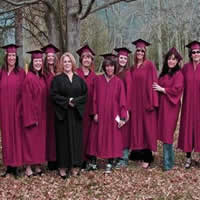 Photo students of Selkirk College