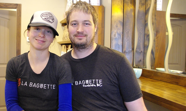 Sonia Ratté and Olivier Dutil own and operate La Baguette Catering and Le Marché Gourmet specialty food store in Revelstoke, B.C.