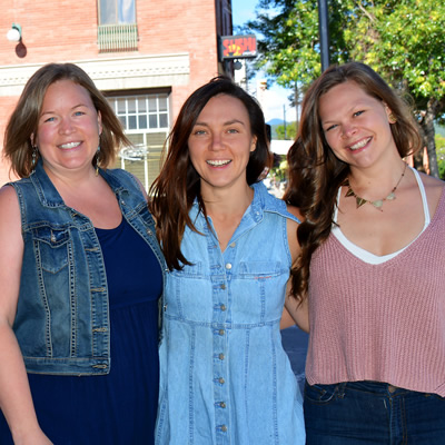 Tamara Mercandelli, Christel Hagn, and Caitlin Berkhiem have given Soulfood to the community.