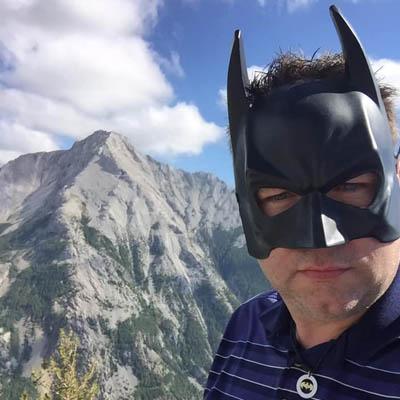 Duane Nelson, Sparwood's 'Batman'.