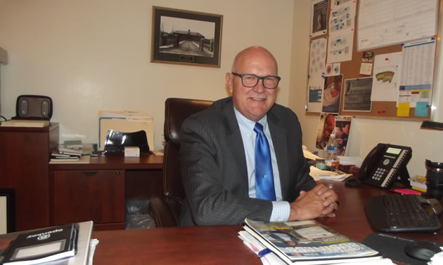 Barry Zwueste, CEO of St. Eugene Golf Resort & Casino, is happy to welcome a new RV park to the mix.