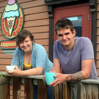 Stuart Cope and Crystal Leonard hope to continue on the mission Gerry Taft first set upon when he opened Gerry's Gelati in Invermere 14 years ago.