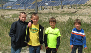 Future generations will benefit from SunMine and other clean energy projects.
