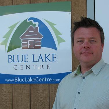 Todd Hebert, executive director of Blue Lake Centre