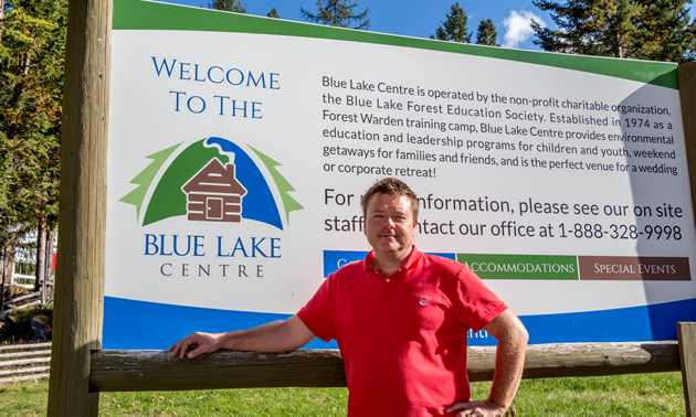 Todd Hebert, executive director of Blue Lake Centre