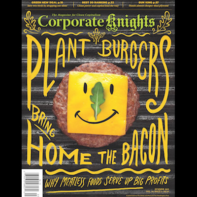 Cover of Summer issue of Corporate Knights
