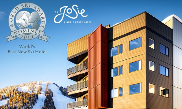 The Josie Hotel at RED Mountain Resort in Rossland, B.C.