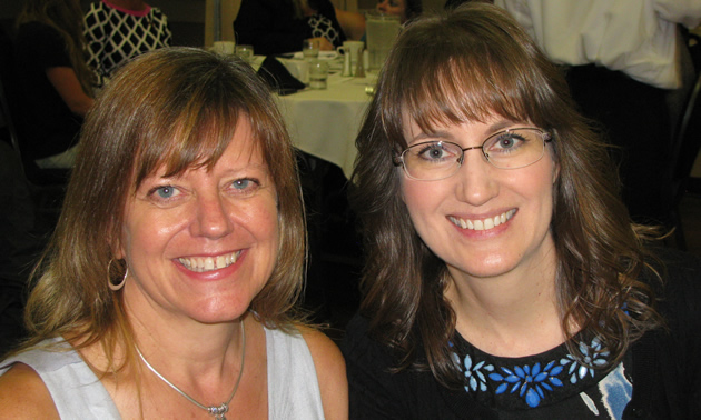 Suzanne Thompson, owner/operator of Kootenay Therapy Centre, and Leanne Jensen, president of New Dawn Restorations, are women of influence in Cranbrook's business community.