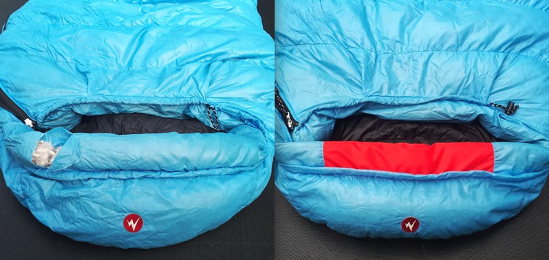 Sleeping bag restoration is one of the many services Thread the Needle offers to its outdoor-enthusiast clientele.