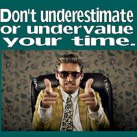 Time Management workshop poster