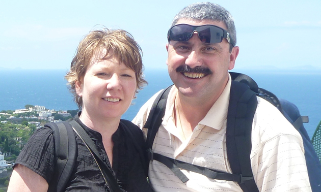 Nancy Trotman and Chris Bell are generous supporters of the community of Castlegar, B.C.