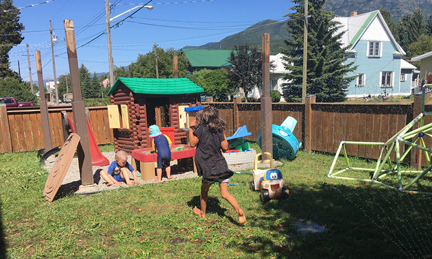 Fernie's Busy Bees Family Daycare will be upgrading its equipment thanks to a Child Care Capital Grant from Columbia Basin Trust.