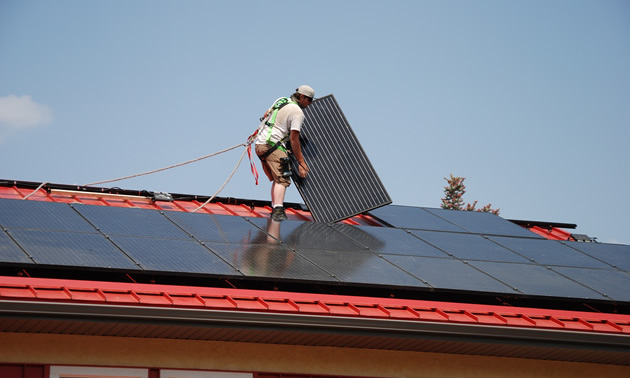 A new program from the Trust supports alternative energy generation at community buildings.