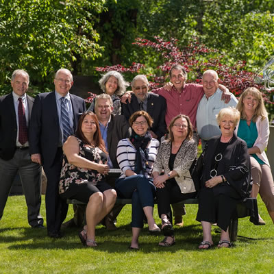 Columbia Basin Trust Board of Directors group photo.