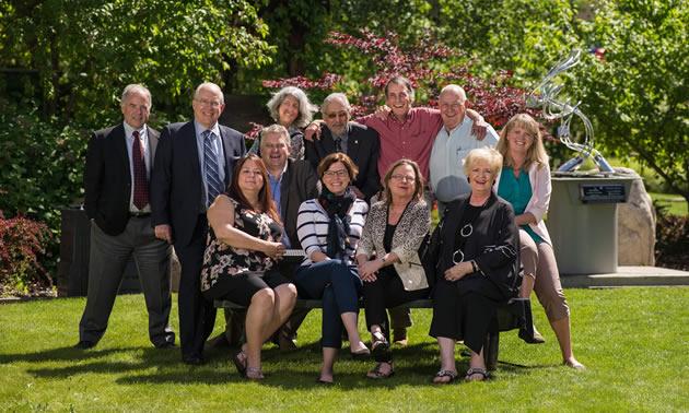 Columbia Basin Trust Board of Directors group photo.