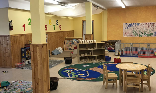 The Valemount Children's Activity Society will be adding child care spaces as one of the recipients of a Columbia Basin Trust Child Care Capital Grant.
