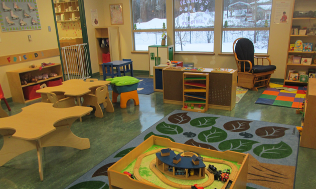 Revelstoke's Stepping Stones Child Care Center will be adding 12 new child care spaces thanks to a Child Care Capital Grant from Columbia Basin Trust.