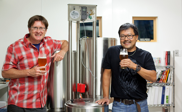 Owners of Whitetooth Brewery.