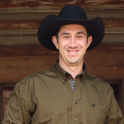 Tyler Beckley owns and operates the Three BVars Guest & Cattle Ranch near Cranbrook, B.C.