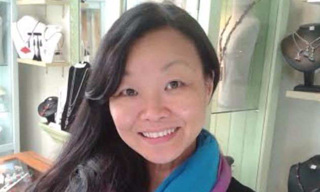 Ting Yuen, Artist/Jewelry designer/owner and operator of Art Rush Gallery.