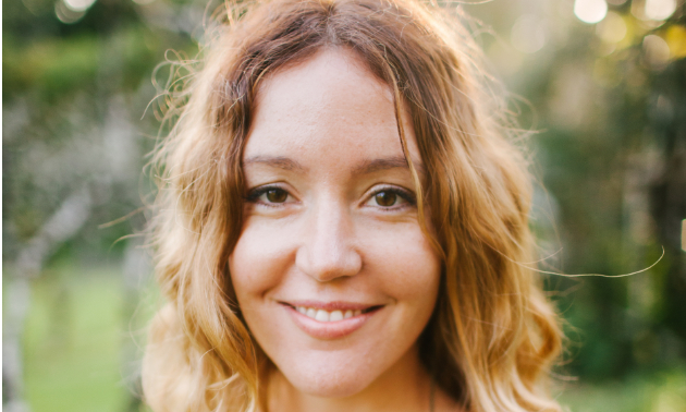 Kari Asselin, owner and creator of OM Organics Boutique Apothecary