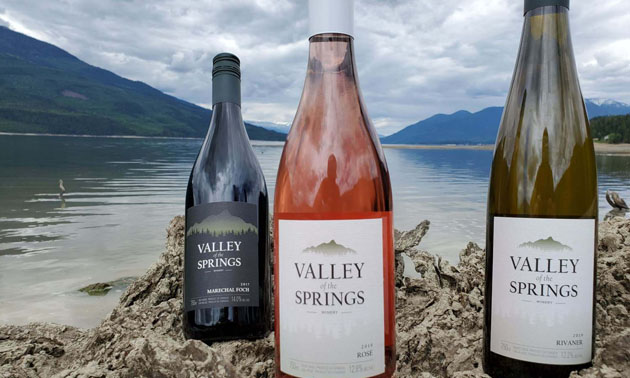 Valley of the Springs is our region's newest winery.
