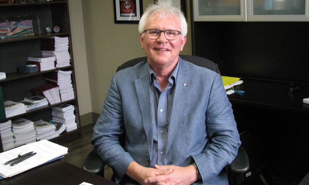 Wayne Stetski, MP for Kootenay Columbia, at his office in Cranbrook, B.C.