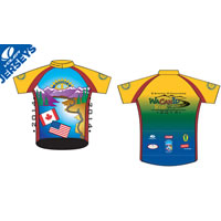 Jersey image for the 6th annual WaCanId cycling event