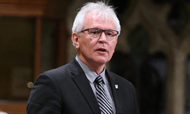 NDP MP Wayne Stetski.
