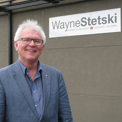 MP Wayne Stetski.