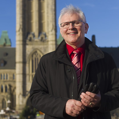 Wayne Stetski, NDP Member of Parliament for Kootenay – Columbia.