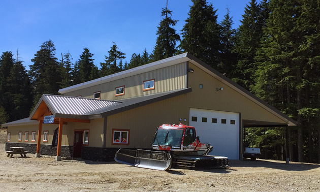 The Snowmobile Welcome Centre is a popular new amenity in Revelstoke, B.C.