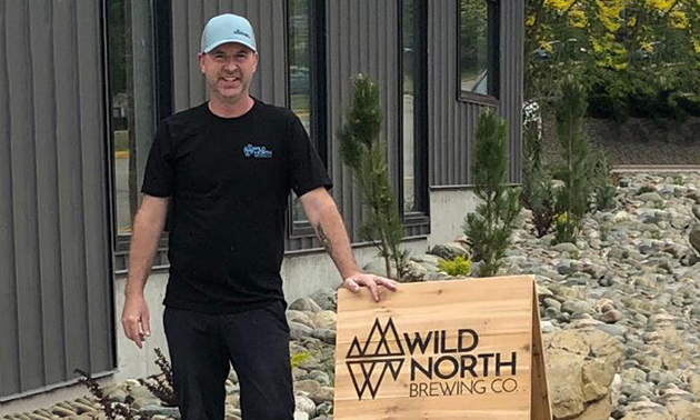 Craig Wood is one of five partners in Wild North Brewing Co., and it was his idea to open a craft brewery in Creston.