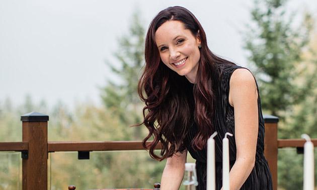 Danielle Peet, owner of Wild Smile Events