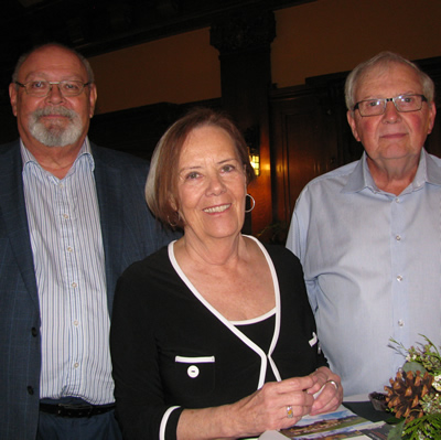 (L to R) Clint Cawsey, Patricia Pollitt and Gary Pottage are the investors and developers of The Woodlands at Wildstone, in Cranbrook, B.C.